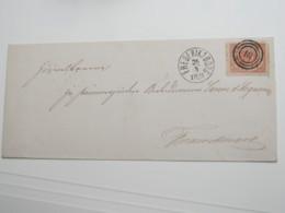 ,Brief  Mit Nummernstempel Frederiksborg - 1851-63 (Frederik VII)