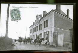 HALLENCOURT GENDARMERIE                                      JLM - France