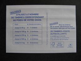 TB Carnet 1214 - C2, Neuf XX. - Usage Courant