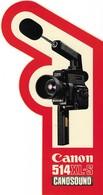 Autocollant - Photo - Caméra CANON - 514 XL-S CANOSOUND - 11 X 20,5 Cm - - Stickers