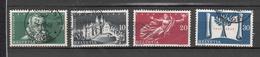 1948    N° 281 à 284      OBLITERES  COTE 3.50  FRS.  VENDU à 12%       CATALOGUE ZUMSTEIN - Suisse