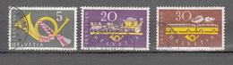 1949    N° 291 à 293      OBLITERES  COTE 15.00  FRS.  VENDU à 12%       CATALOGUE ZUMSTEIN - Suisse