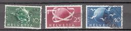 1949    N° 294 à 296      OBLITERES  COTE 20.00  FRS.  VENDU à 12%       CATALOGUE ZUMSTEIN - Suisse