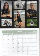 Cyclisme Cartes Postales ( Calendrier 2019 La Pedale Madeleinoise Team Feminins ) - Radsport