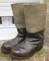 Bottes Grand Froid Front De L'Est WW2 - 1939-45