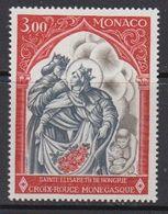 Monaco 1969 Croix Rouge 1v ** Mnh (41507A) - Monaco