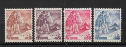 Poland 1939,Skiing Zakopane Scott # 335-338,VF-XF MNH**OG (RN-5) - 1919-1939 Republic
