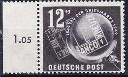 2018-0056 DDR 1949 Tag Der Briefmarke Mi 245 MNH ** Mit Rand! - [6] République Démocratique