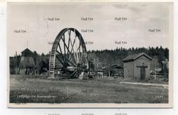 Sweden Sverge Ludvika Vid Gammelgarden Water Wheel And Mill Postcard - Sweden