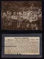 RARETE - ARRESTATION DE DAVID BLOCH DE GUEBWILLER ESPION ET HEROS PRES DE MERXHEIM LE 23 Juin 1916 JUDAICA - Guebwiller