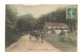 Charolles -  Attelage Dans La Foret -  Promenade En Foret -  CPA° - Charolles