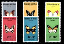 Serie De Senegal Nº Yvert 226/31 *  MARIPOSAS (BUTTERFLIES) - Senegal (1960-...)