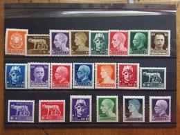 REGNO 1929 - Serie Imperiale Nn. 242A/261 - 22 Valori Completa Nuova ** + Spedizione Prioritaria - 1900-44 Vittorio Emanuele III
