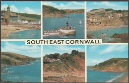 Multiview, South East Cornwall, C.1960s - Salmon Postcard - England