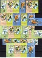 50 Jahre EUROPA Mazedonien 370/3,6x ZD,ER+Block 13 ** 300€ Mutter Teresa Hb Stamp On Stamps Se-tenants Bf CEPT 2006 - Macedonia