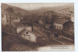 Cpa - Dpt  - Gard  - Moliere -sur-ceze   - - Vue Panoramique Gare   - Animation -  (  Selection  )   Rare  1950 - France