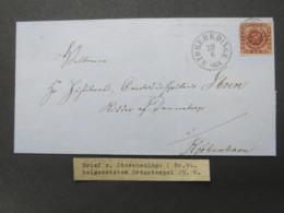Brief  Mit  Stempel Aus Storehedinge - 1851-63 (Frederik VII)