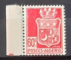 ALGERIE - BORD DE FEUILLE - N° 187 - Neuf SANS Charnières ** / MNH - Algeria (1924-1962)