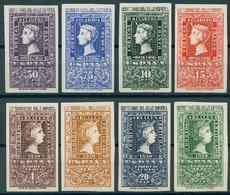 España 1950. Edifil 1075/82** Cat. 2016: 625€ - Centenario Del Sello Español - 1931-50 Nuevos & Fijasellos