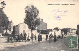 16 - Charente / 10022 - Jarnac - Place De La Bastille - Beau Cliché Animé - Autres Communes