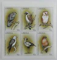 Liberia 1999** Klb.2271-76. Birds MNH [7II;88] - Birds