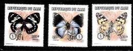 Serie De Mali Nº Yvert 1112/14 **  MARIPOSAS (BUTTERFLIES) - Mali (1959-...)