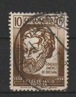 MiNr. 392  Kolumbien 1938, 27. Juli. 400 Jahre Stadt Bogotá. - Kolumbien