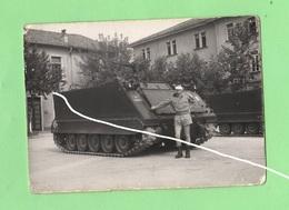 Brigata Ariete Bersaglieri Mezzo Cingolato Carro Armato M577 Foto Di Posa 1983 Tank Blindè - Guerra, Militari