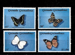 Serie De Grenada-Grenadinas Nº Yvert 1050/53 ** MARIPOSAS (BUTTERFLIES) - Grenade (1974-...)