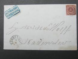 Brief  Mit  Stempel Aus Kopenhagen - Briefe U. Dokumente