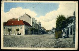 PANCSOVA 1914. Rákóczi Utca, Cenzúrázott Régi Képeslap - Hongrie