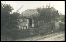 MIKLÓSFALVA / Nicolești 1910. Cca. Régi Fotó, Képeslap  / MIKLÓSFALVA Ca 1910 Vintage Photo Postcard - Hungary