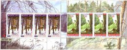2011  Europa - Year Of Forests   2  Sheet – MNH  BULGARIA / BULGARIE - Birds