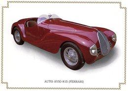 Auto Avio 815 (Ferrari)  -  1940   -  CPM - Turismo
