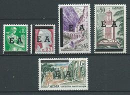 ALGERIE 1962 . Série N°s 359 à 363 . Neufs ** (MNH) - Algeria (1962-...)