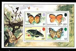 Hoja Bloque De Antigua Nº Yvert HB-22 ** MARIPOSAS (BUTTERFLIES) - Antigua Et Barbuda (1981-...)