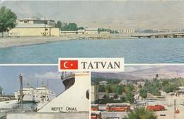 Turkey / Bitlis / Tatvan - 1960/70: Government House And City Hall Square - Turchia