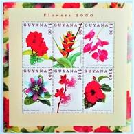 Guyana 2000**Mi.7014-19 Flowers , MNH [7II;96] - Sonstige