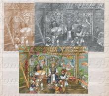 2014 Europa- Folk Musical Instruments  2 Sheet –MNH BULGARIE / Bulgaria - Danse