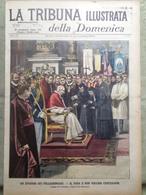 La Tribuna Illustrata 11 Novembre 1900 Capodimonte Legazione Francese Cina Papa - Livres, BD, Revues