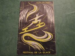 PALAIS DES SPORTS - Festival De La Glace - Programme Des Soirées (24 Pages) - Programmi