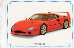 Ferrari F40  -  1980   -  CPM - Turismo