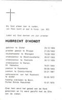 Prieter, Abbé, Hubrecht D'Hondt, Gistel,Brugge,Waregem,Westnieuwkerke,Dadizele,Kaaskerke, Oostduinkerke, Bonn, 1979 - Religion & Esotericism