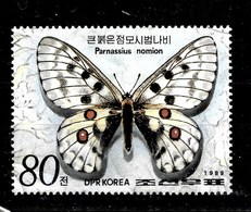 Serie De Corea Nº Yvert SH-59 **  MARIPOSAS (BUTTERFLIES) - Corea Del Norte