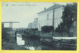 * Boom (Antwerpen - Anvers) * (SBP, Nr 4) Le Pont Levis Du Chantier Maritime, Bateau, Péniche, écluse, Animée, TOP - Boom