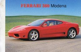 Ferrari 360 Modena     -  CPM - Voitures De Tourisme