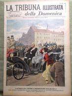 La Tribuna Illustrata 25 Novembre 1900 Kruger Transvaal Attentato A Guglielmo II - Livres, BD, Revues