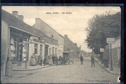 Putte - De Grens - Paard Wagen - Militair Verzonden - 1916 - Nederland