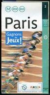 Métro Paris - Ile De France N° 2 - Complet - Jeux Olympiques 2012 - Décembre 2004 - Europe
