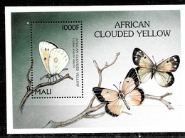 Hoja Bloque De Mali Nº Yvert HB-81 ** MARIPOSAS (BUTTERFLIES) - Mali (1959-...)